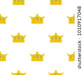 prince crown pattern seamless... | Shutterstock .eps vector #1010917048
