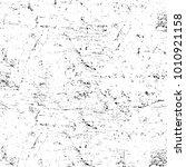grunge black and white pattern. ... | Shutterstock . vector #1010921158