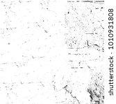 grunge black and white pattern. ... | Shutterstock . vector #1010931808