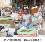 merchants sell nepalese... | Shutterstock . vector #1010938654