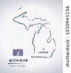 michigan national vector... | Shutterstock .eps vector #1010941156