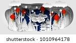 creative happy chinese new year ... | Shutterstock . vector #1010964178