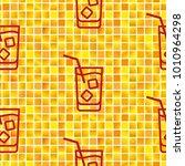pattern. background texture.... | Shutterstock .eps vector #1010964298