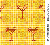 pattern. background texture.... | Shutterstock .eps vector #1010964730