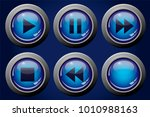 Set Of Vector Images Of Buttons ...