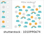 how many counting game with... | Shutterstock .eps vector #1010990674