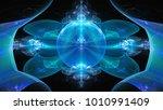 3d surreal illustration. sacred ...   Shutterstock . vector #1010991409