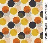 Geometric Circle Dot Seamless...