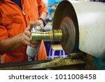the small cnc lathe multi... | Shutterstock . vector #1011008458