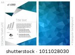 light blue vector  template for ... | Shutterstock .eps vector #1011028030