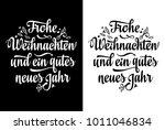 frohe weihnacht.... | Shutterstock .eps vector #1011046834