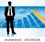 successful businessman. | Shutterstock .eps vector #101105236
