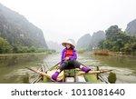 tam coc  ninh binh  vietnam  ... | Shutterstock . vector #1011081640