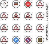 line vector icon set  ... | Shutterstock .eps vector #1011085684