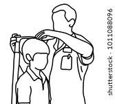 male doctor measuring the...   Shutterstock .eps vector #1011088096