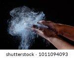 closeup shot of female hands...   Shutterstock . vector #1011094093