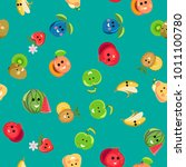 seamless pattern from groups of ...   Shutterstock .eps vector #1011100780