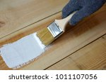 wood painting. painting a... | Shutterstock . vector #1011107056
