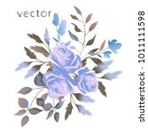 vector illustration of branch... | Shutterstock .eps vector #1011111598