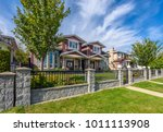 a perfect neighborhood. houses... | Shutterstock . vector #1011113908