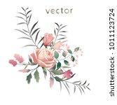 vector illustration of branch... | Shutterstock .eps vector #1011123724