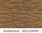 seamless wood floor texture ... | Shutterstock . vector #1011126940