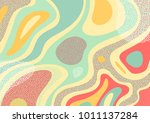creative geometric colorful... | Shutterstock .eps vector #1011137284