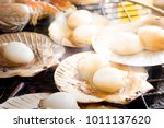 Grilled Fresh Scallop On Shell...