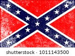 the flag of the confederates... | Shutterstock . vector #1011143500