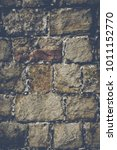 brick wall background with...   Shutterstock . vector #1011152770