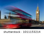 big ben in a sunny morning ...   Shutterstock . vector #1011153214