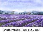 watercolor painting.  hand... | Shutterstock . vector #1011159100