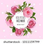 beautiful vector floral... | Shutterstock .eps vector #1011159799