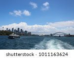 sydney ferry to manly beach ... | Shutterstock . vector #1011163624