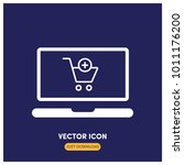e commerce vector icon...