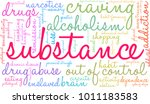 substance word cloud on a white ...   Shutterstock .eps vector #1011183583