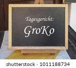 tagesgericht  groko  meaning... | Shutterstock . vector #1011188734