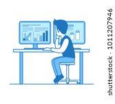 linear flat line art style...   Shutterstock .eps vector #1011207946