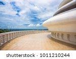 japanese world peace pagoda... | Shutterstock . vector #1011210244