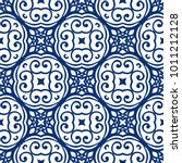vector arabesque pattern.... | Shutterstock .eps vector #1011212128