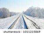 Railroad Tracks That Go Into...