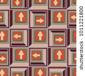 seamless abstract pattern with...
