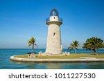 Boca Chita Key lighthouse in Florida