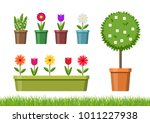 vector illustration. set of... | Shutterstock .eps vector #1011227938