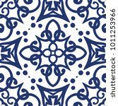 vector arabesque pattern.... | Shutterstock .eps vector #1011253966
