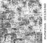 grunge texture black and white. ... | Shutterstock . vector #1011261460