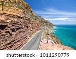 chapman's peak drive near cape... | Shutterstock . vector #1011290779
