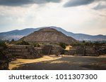 ancient aztek pyramids in... | Shutterstock . vector #1011307300