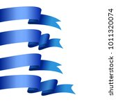 vector honorable satin ribbons. ...   Shutterstock .eps vector #1011320074