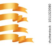 vector honorable satin ribbons...   Shutterstock .eps vector #1011323080